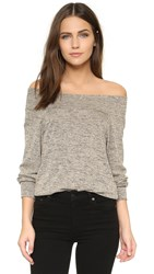 Riller And Fount Cybil Off Shoulder Top Fossil