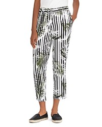 Ralph Lauren Printed Drawstring Crop Pants Multi