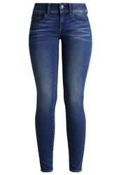 G Star Gstar Lynn Mid Skinny Slim Fit Jeans Darkblue Denim Dark Blue Denim