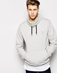 Bench High Neck Sweater Grey