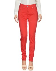Fly Girl Casual Pants Red