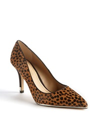 Lord And Taylor Morrisette Leather Pumps Leopard