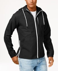 American Rag Men's Earnest Windbreaker Only At Macy's Deep Black