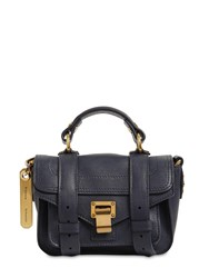 Proenza Schouler Ps1 Micro Lux Leather Bag Midnight