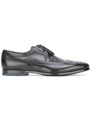 Paul Smith Lace Up Derby Shoes Black