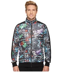 Puma T7 Track Jacket Graffiti Graffiti Aop Black Coat Multi