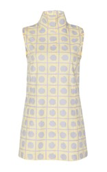 Marni Sleeveless Polka Dot Tank Top Yellow