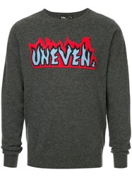 Kolor Patch Crew Neck Sweater Grey