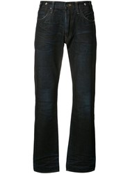 Prps Wide Leg Jeans Men Cotton 38 Blue