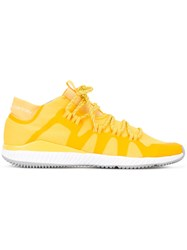 Adidas By Stella Mccartney Lace Up Sneakers Yellow Orange