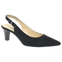 Gabor Hume 2 Sling Back Court Shoes Black
