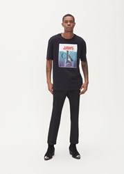 Calvin Klein 205W39nyc 'S Jaws T Shirt In Black Size Small 100 Cotton