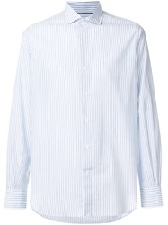 Orian Striped Shirt Blue