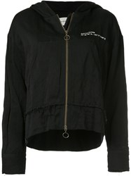 Song For The Mute Wander Park Zipped Hoodie Black