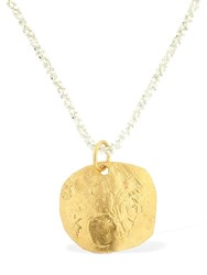 Alighieri A Captured Memory Necklace Gold
