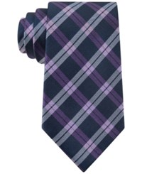 Club Room Marathon Plaid Tie Only At Macy's Purple