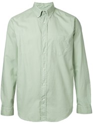 Gant Rugger Organic Oxford Shirt Men Cotton M Green