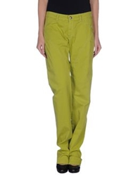 9.2 By Carlo Chionna Casual Pants Acid Green