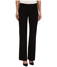 Adrianna Papell Jaynee Notch Back Pants Black Women's Casual Pants