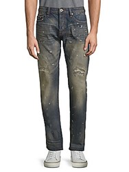 Cult Of Individuality Rocker Slim Straight Cotton Jeans Oak