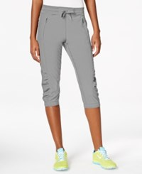 Calvin Klein Performance Cropped Pants Gray