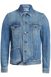 Valentino Denim Jackets With Rock Stud Detail