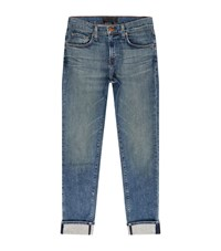 J Brand Tyler Tapered Slim Jeans Male Blue