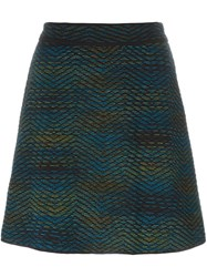 M Missoni Short A Line Skirt Black