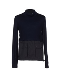Emporio Armani Turtlenecks Dark Blue