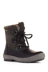 Cougar Wilson Faux Fur Lined Waterproof Boot Black