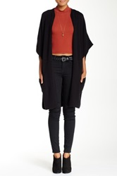 Cullen Tipped Cardigan Black