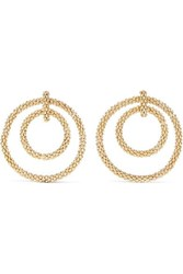 Rosantica Onore Gold Tone Hoop Earrings One Size