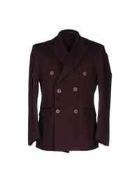 Mnml Couture Suits And Jackets Blazers Maroon
