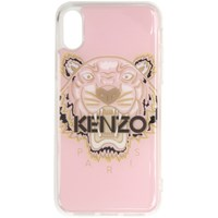 Kenzo Pink And Brown Tiger Iphone X Xs Case
