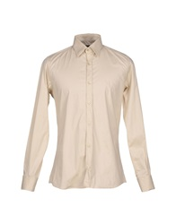 S D Side Shirts Beige