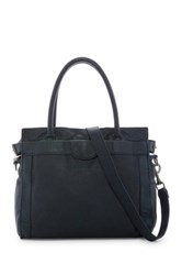 Liebeskind Glory Collapsible Leather Tote Blue