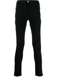 Versace Jeans Couture Low Rise Skinny Jeans Black