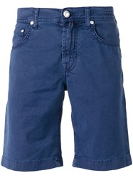Jacob Cohen Chino Shorts Blue