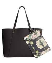Steve Madden Daisy Pebble Extra Large Tote Black