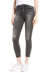 Habitual Cressa High Rise Ankle Skinny Jeans Obsidian