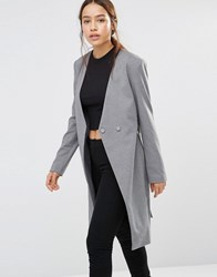 Finders Keepers Finder Upgrade You Coat Charcoal Grey