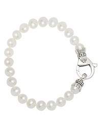 Lagos Sterling Silver Luna Pearl Bracelet No Color