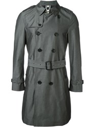Burberry London Classic Trench Coat Grey