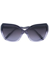 Courreges Square Sunglasses Women Acetate One Size Grey