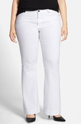 Plus Size Women's Cj By Cookie Johnson 'Worthy' Stretch Flare Leg Jeans