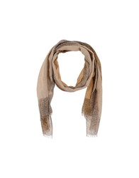 Borbonese Accessories Oblong Scarves Women Camel