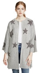 Cupcakes And Cashmere Etoile Sweater Light Heather Grey