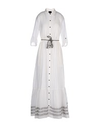 Atos Lombardini Dresses Long Dresses Women White