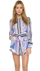 Style Stalker Orchid Shadows Romper