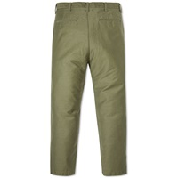 Sophnet. Wide Tapered Military Pant Khaki Green